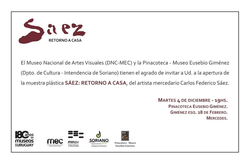 Invitación ampliada - Museo Nacional de Artes Visuales