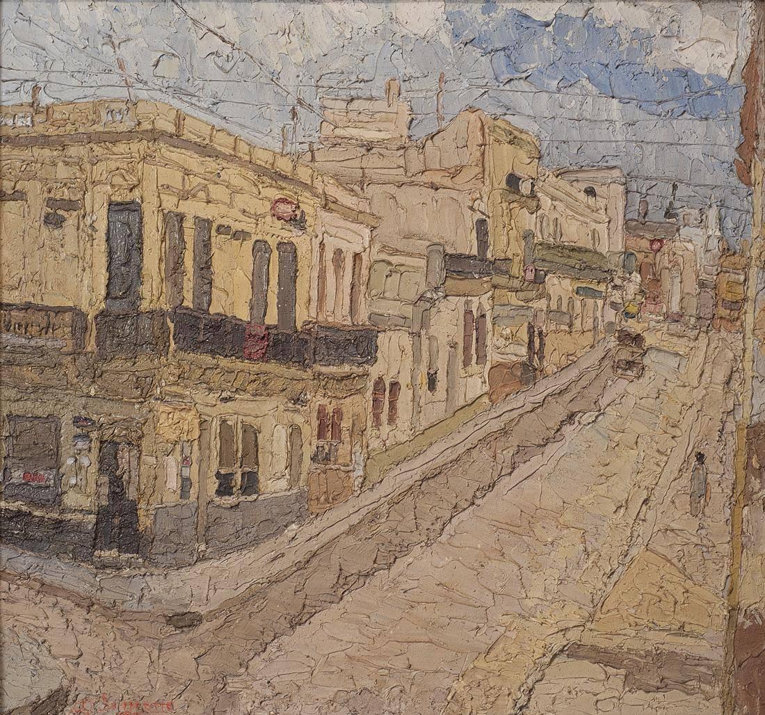 Obra ampliada: La calle - Alfredo De Simone