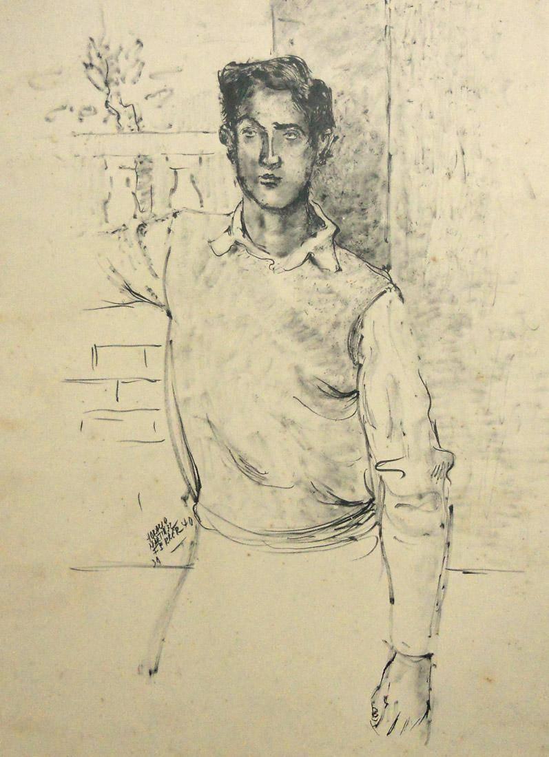 Obra ampliada: Adolescente - Horacio Martínez Ferrer