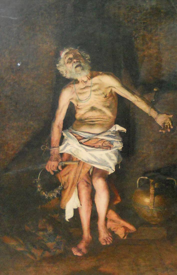 Obra ampliada: El fakir - Giuseppe Signorini