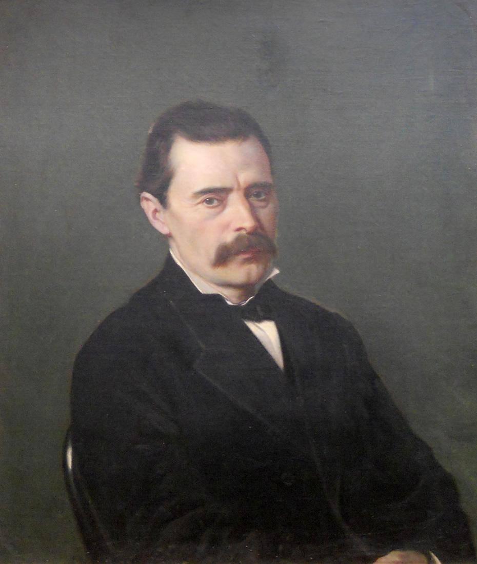 Obra ampliada: Retrato (Sr. F. Veiga) - Juan Manuel Blanes