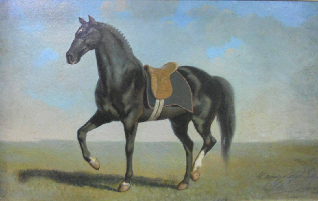 Obra ampliada: El Doctor (nombre de un caballo) - Juan Manuel Blanes