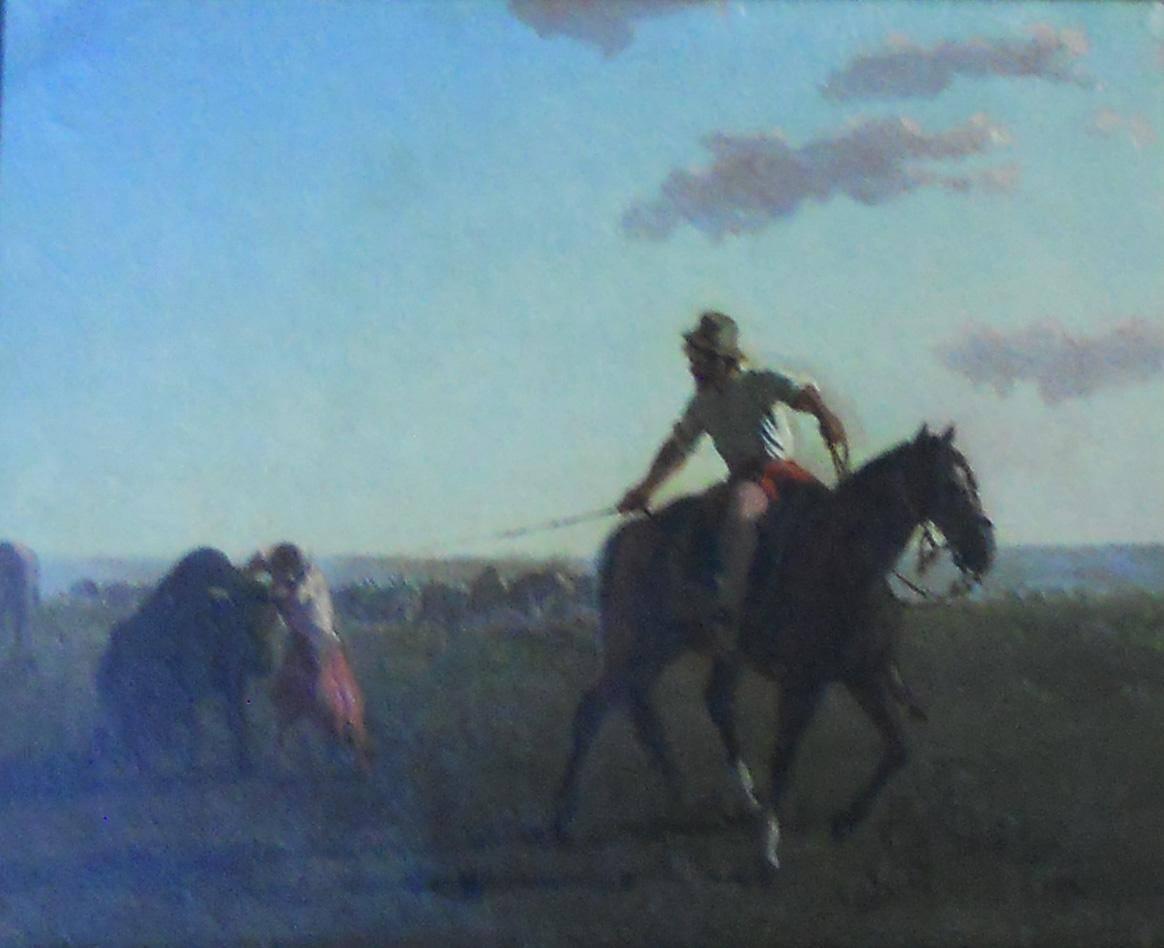Obra ampliada: La yerra - Juan Manuel Blanes