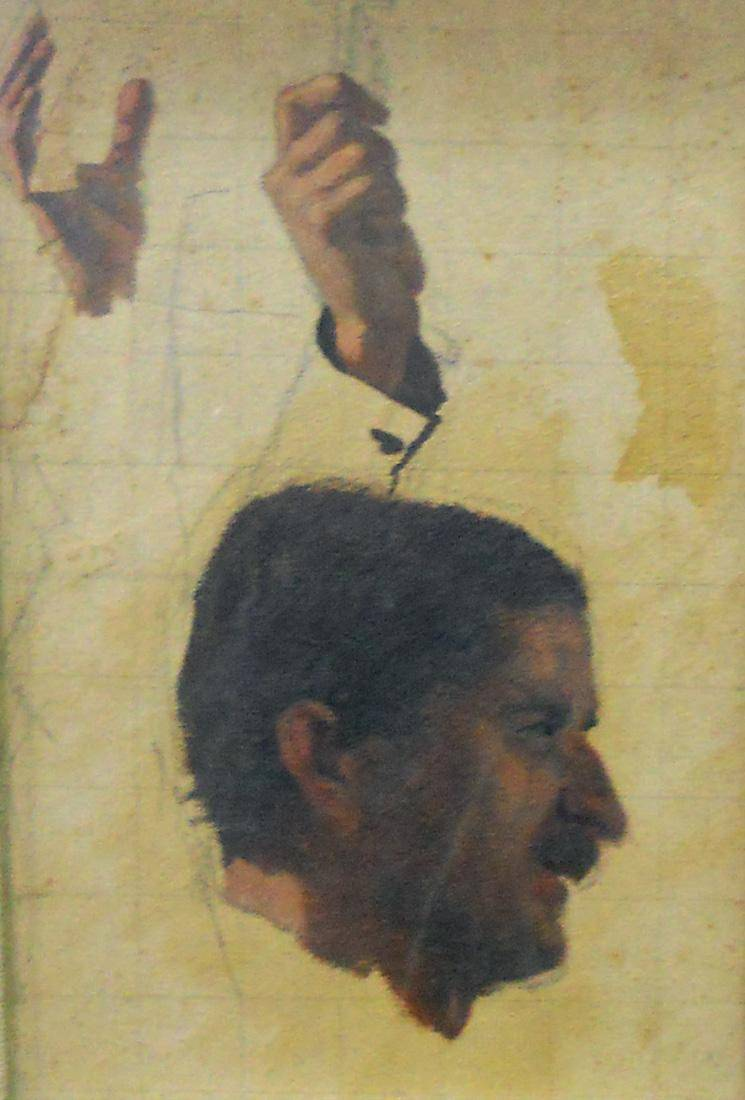Obra ampliada: Estudio - Juan Manuel Blanes