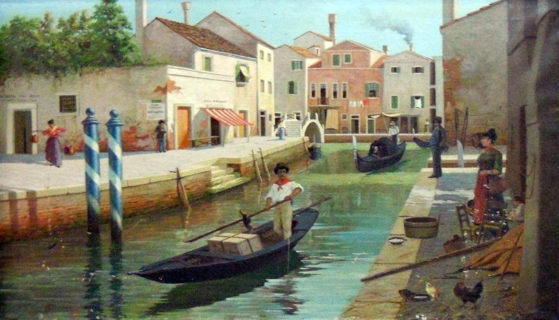 Obra ampliada: Venecia - Juan Luis Blanes