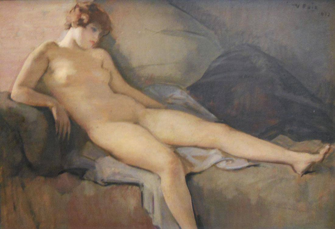 Obra ampliada: Desnudo - Vicente Puig