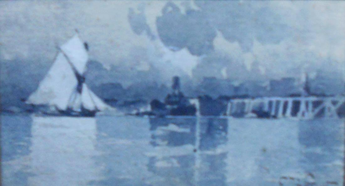 Obra ampliada: Paisaje y marina - Carlos de Santiago