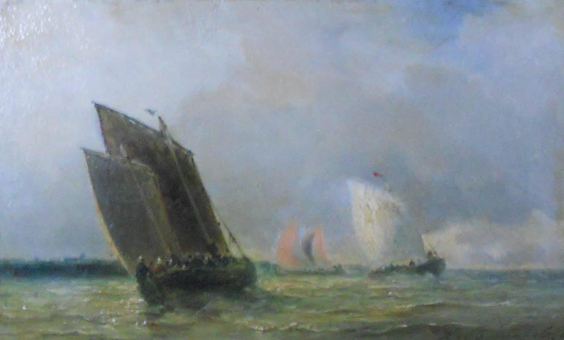 Obra ampliada: Barcas pescadoras - Luis Bentabole