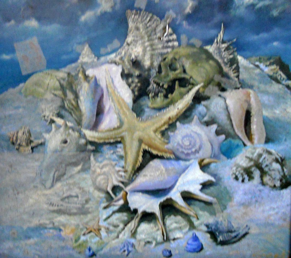 Obra ampliada: Fósiles - Giocondo Faggioni