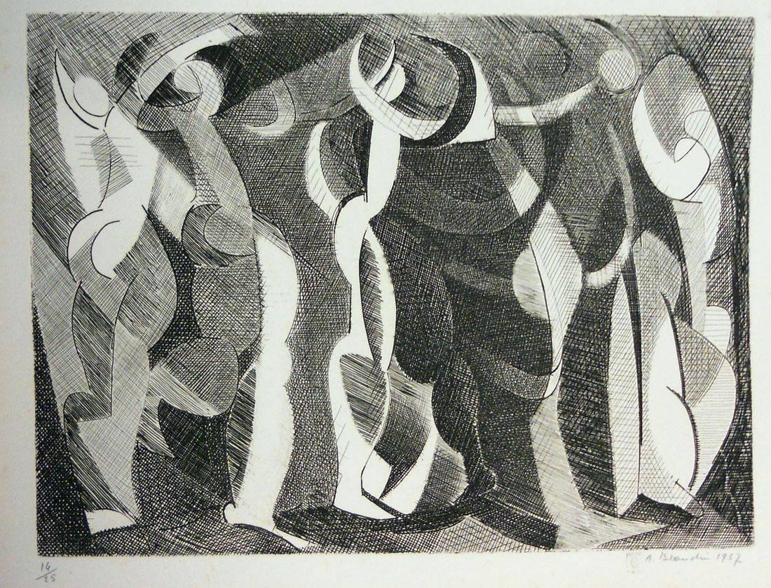 Obra ampliada: Taller del pintor escultor - André Beaudin