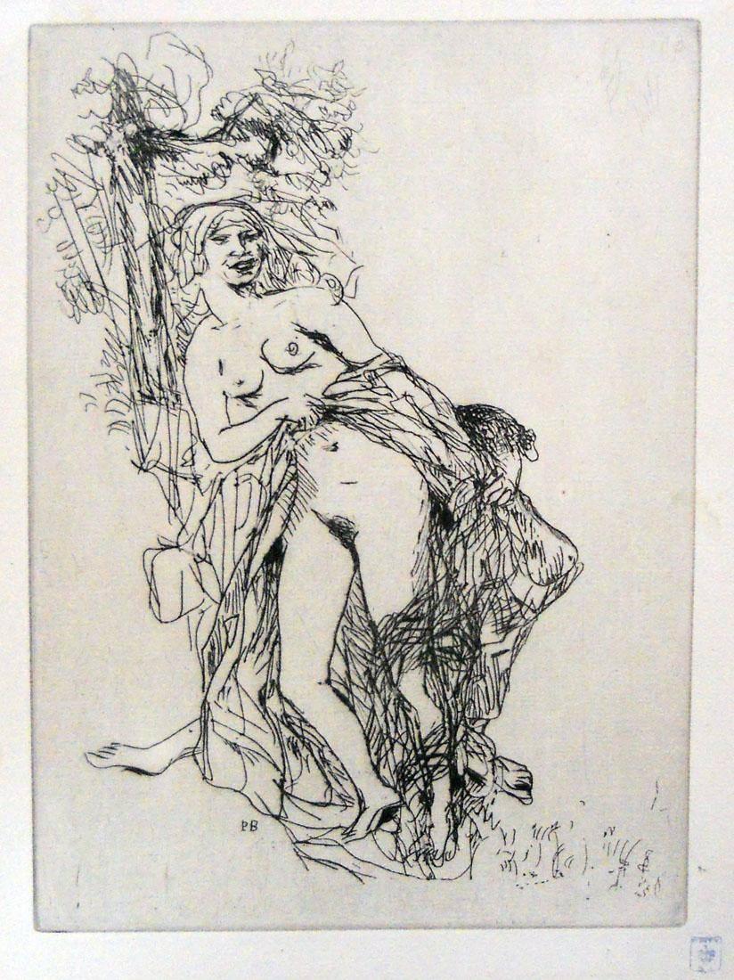 Obra ampliada: Escena - Pierre Bonnard