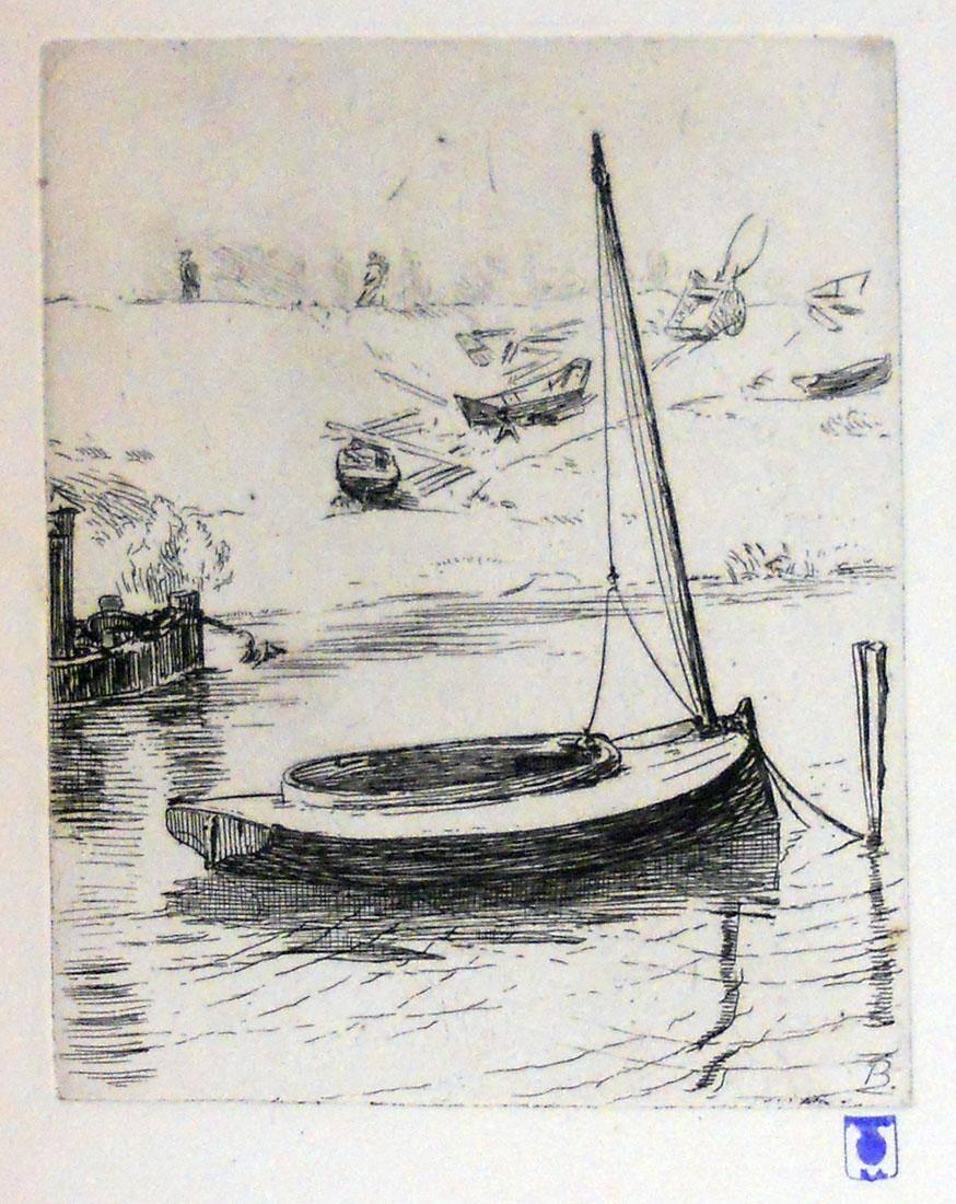 Obra ampliada: Barcos - Félix Braquemond