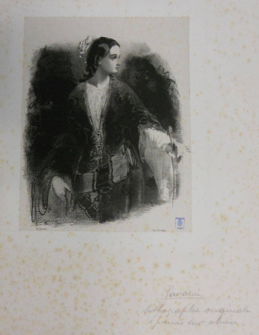 Obra ampliada: Figura de mujer - Paul Gavarni
