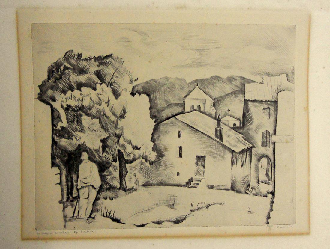 Obra ampliada: Las casas de aldea - Pierre Guastalla