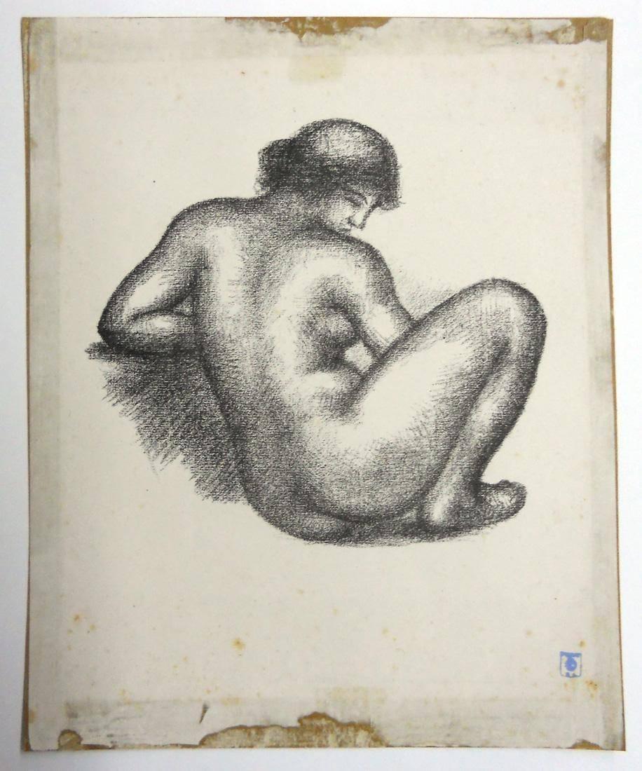 Obra ampliada: Desnudo - Aristides Maillol