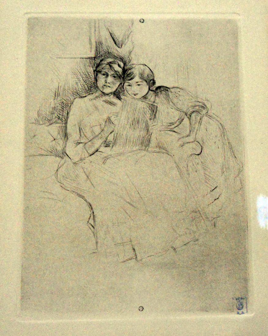 Obra ampliada: Lectura - Berthe Morisot
