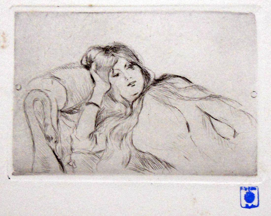 Obra ampliada: Figura - Berthe Morisot
