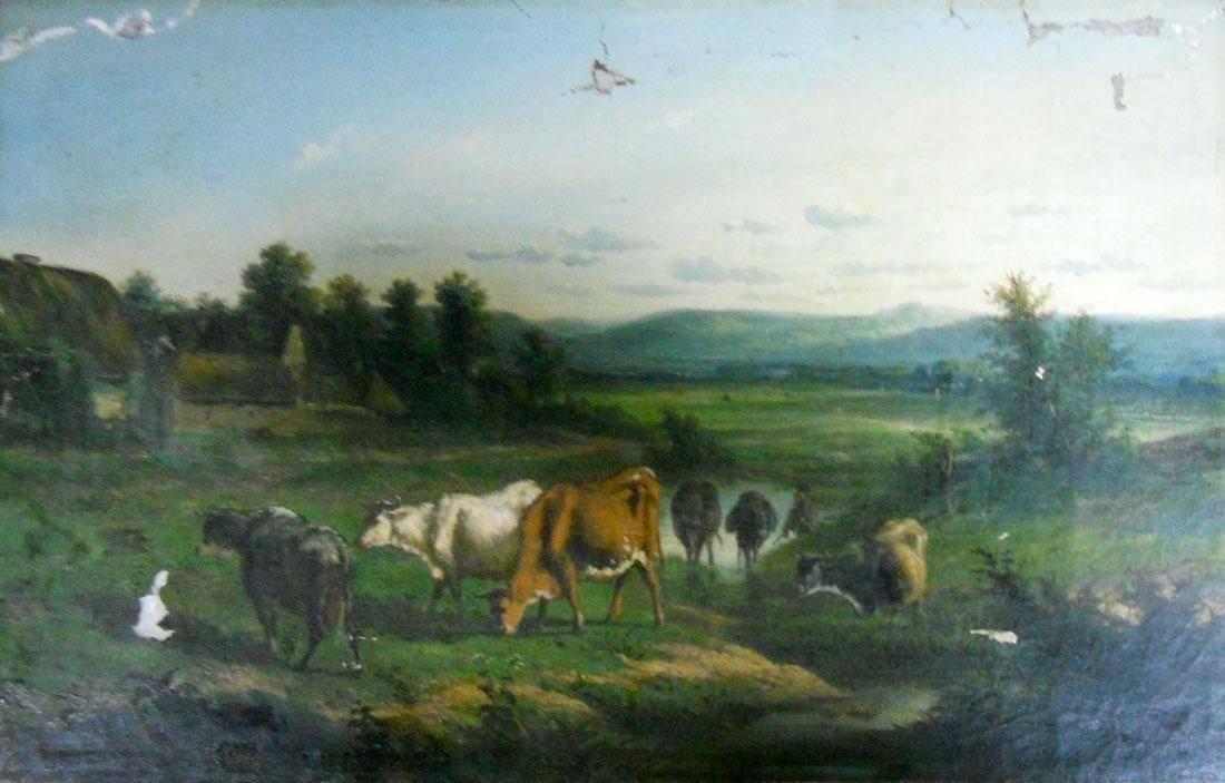 Obra ampliada: El vaquero - Victor Emile Cartier