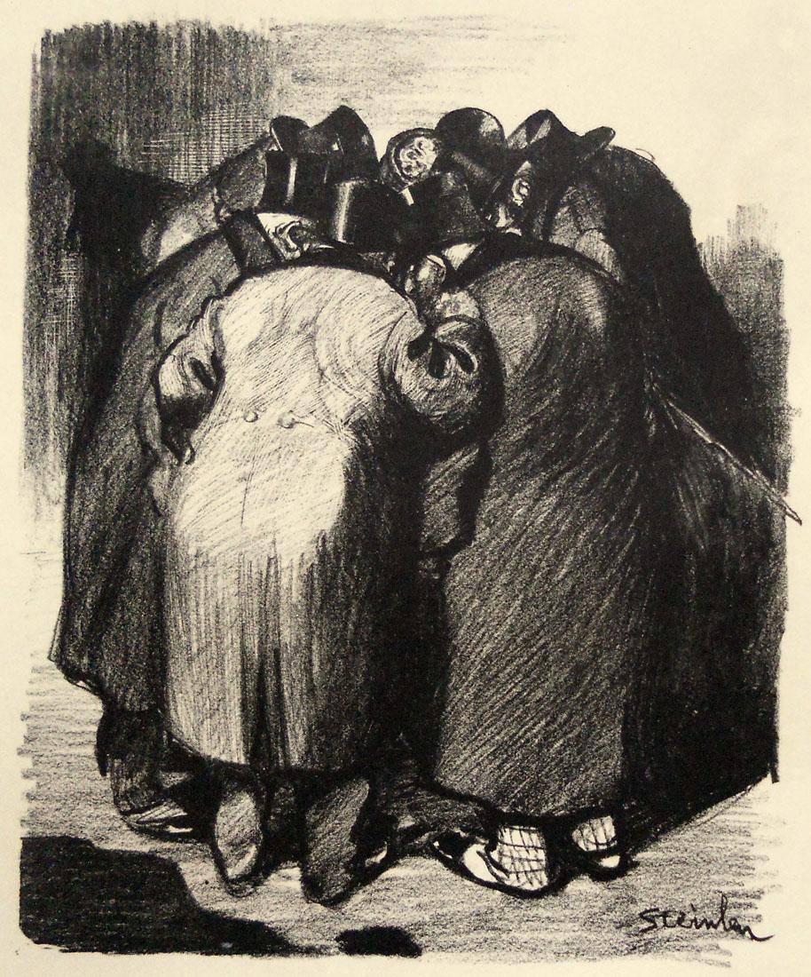 Obra ampliada: Malhechores - Théophile Alexandre Steinlen
