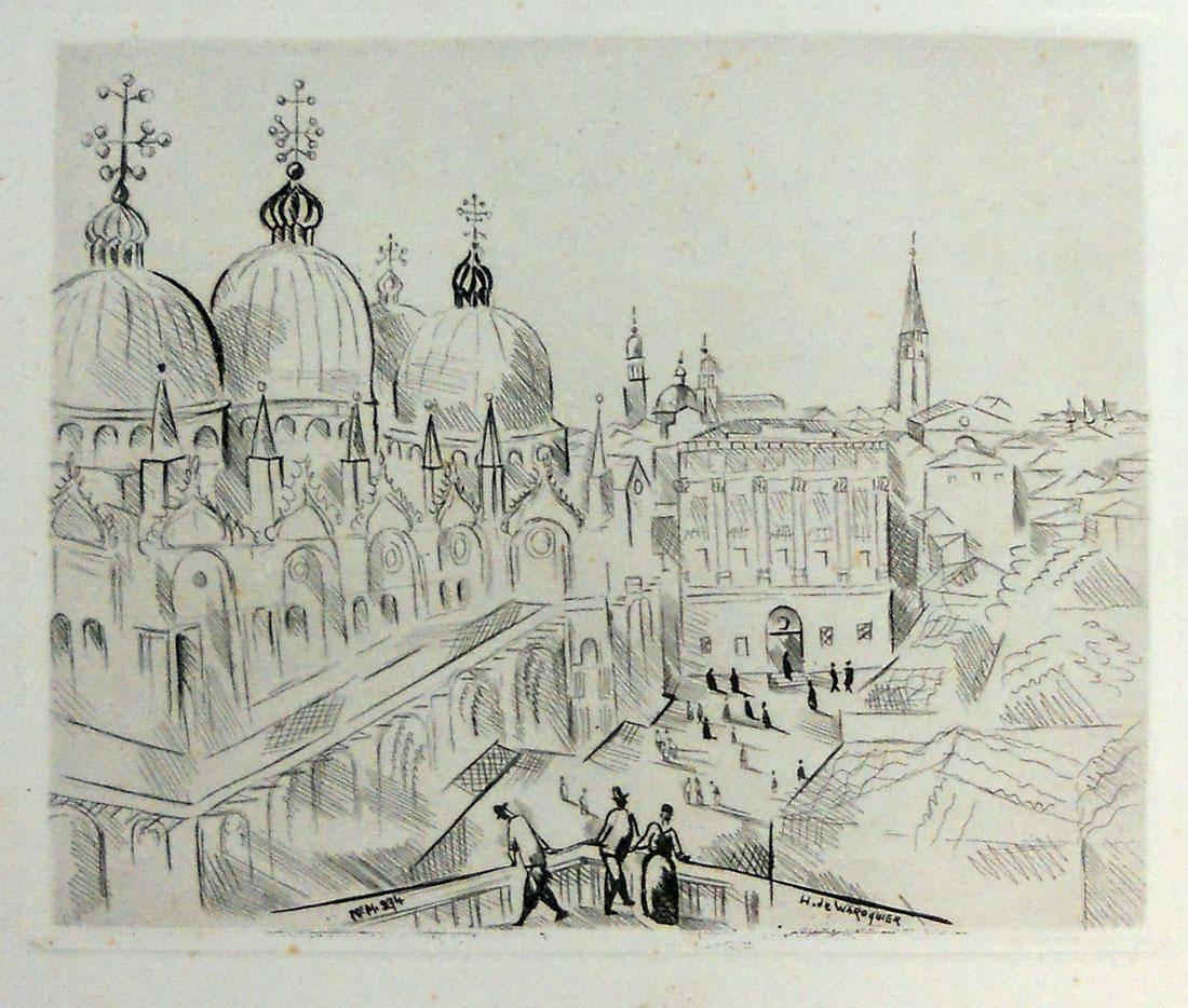 Obra ampliada: Venecia - Henry de Warroquier