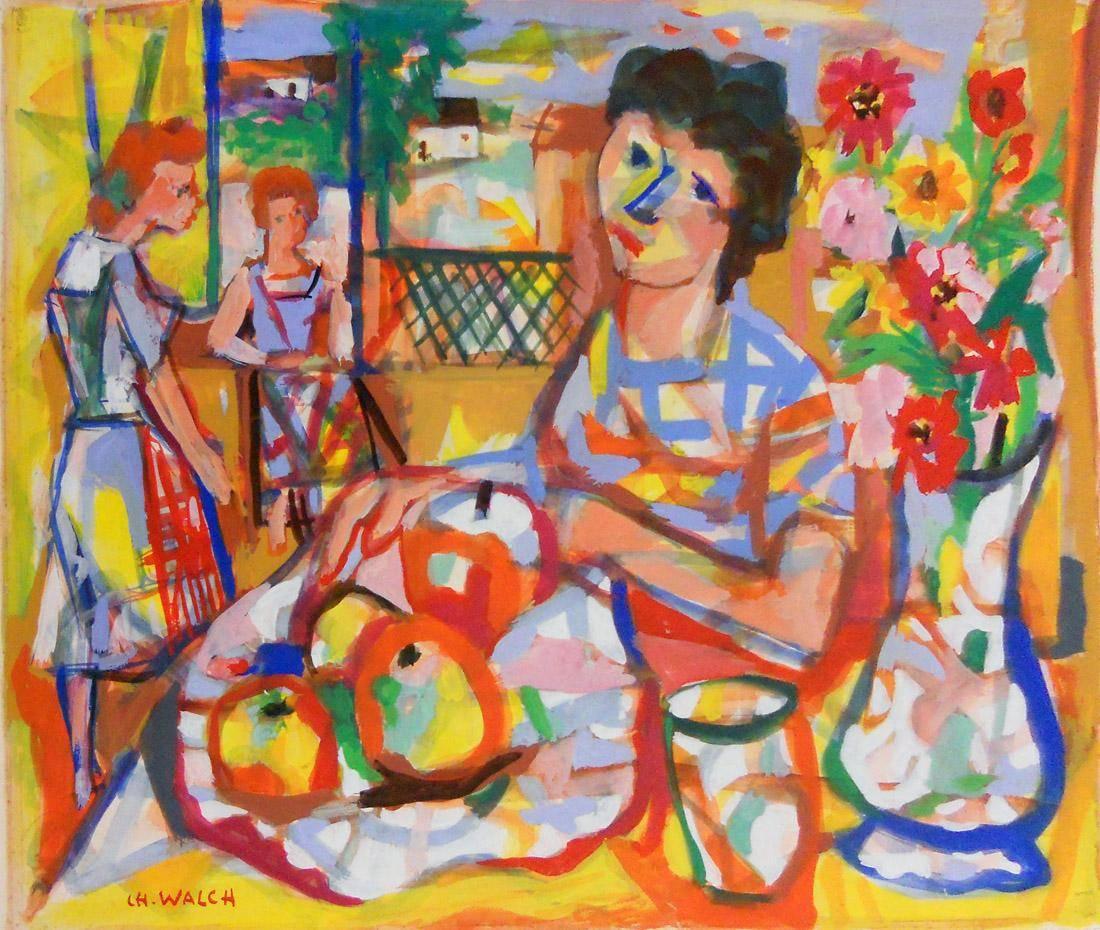 Obra ampliada: Les pommes - Charles Walch