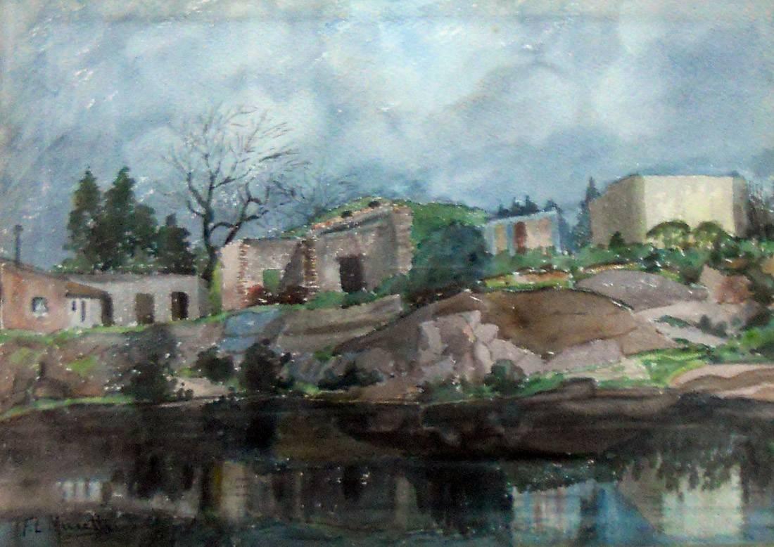 Obra ampliada: Canteras y viejas casas - Francisco L. Musetti