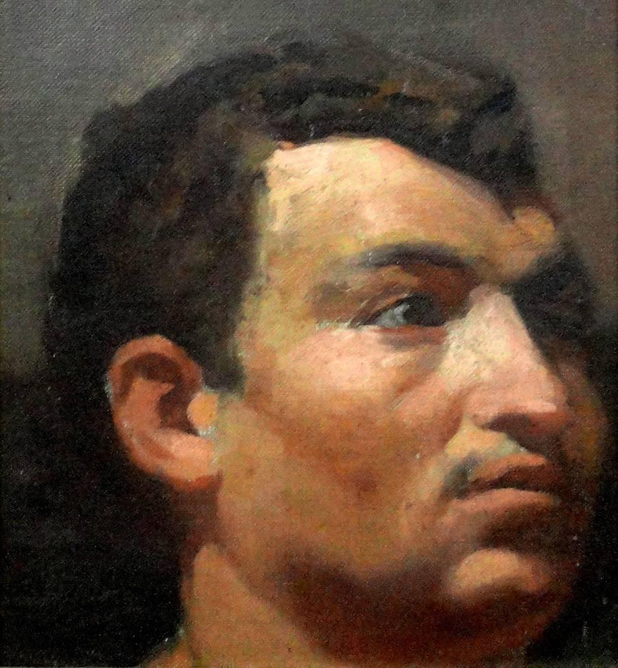 Obra ampliada: Retrato - Joaquín Torres García