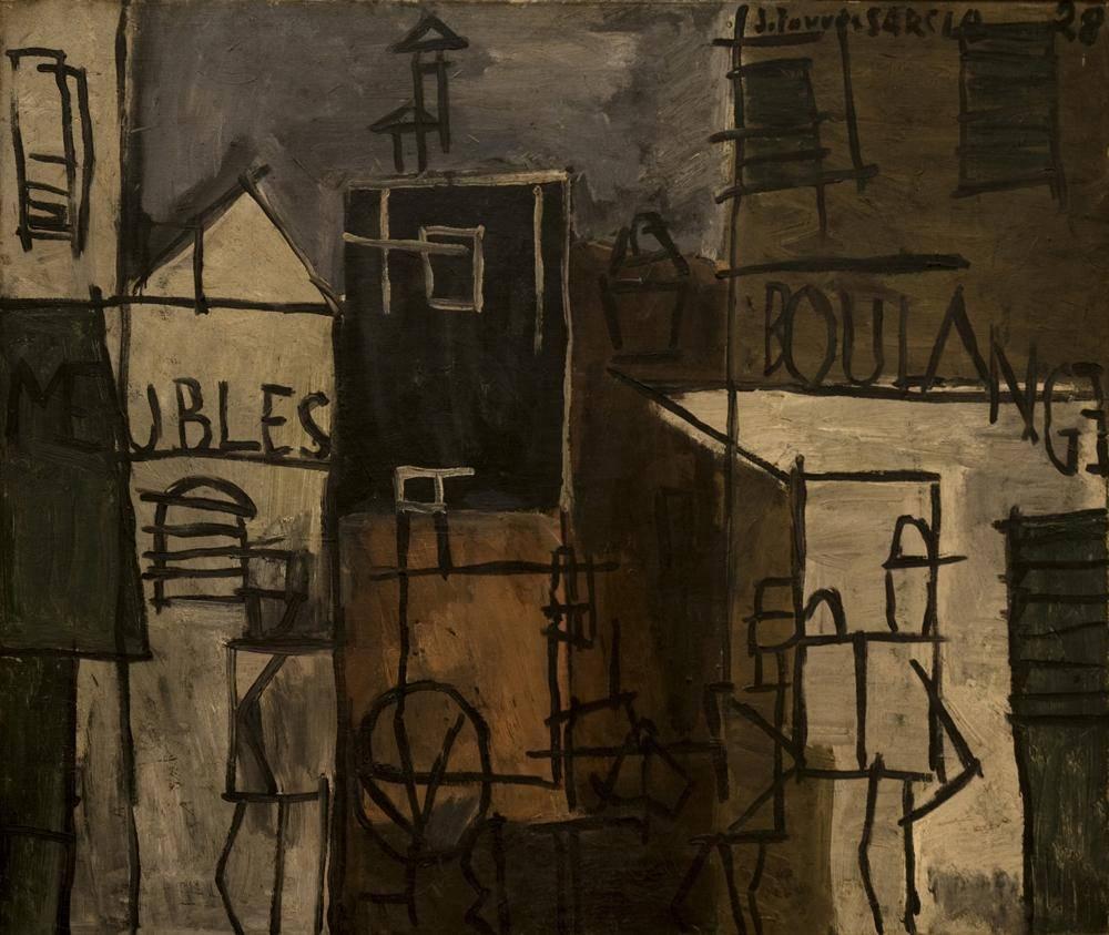 Obra ampliada: Pintura constructiva - Joaquín Torres García
