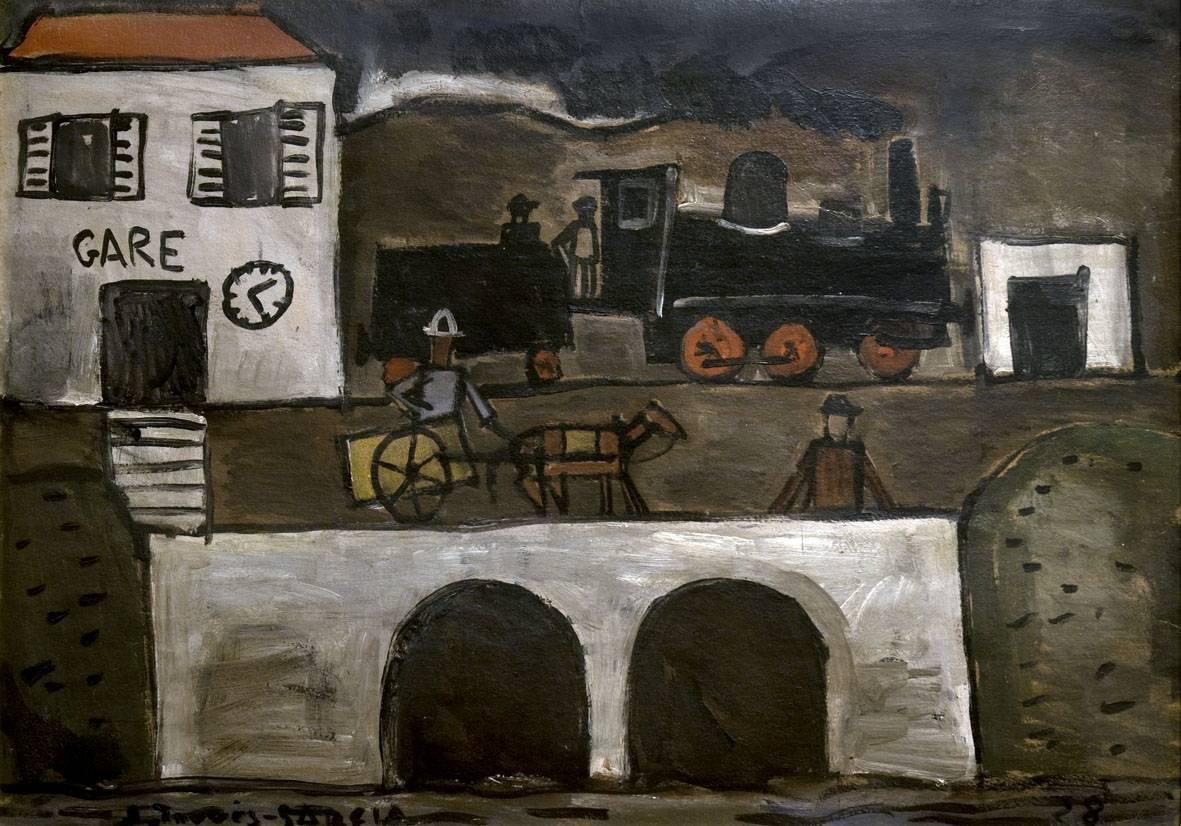 Obra ampliada: Gare - Joaquín Torres García