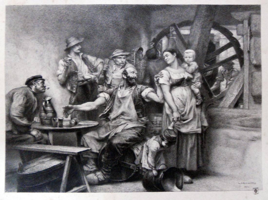 Obra ampliada: El vino - Alfredo Boilot