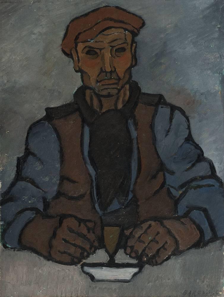 Obra ampliada: Hombre en la taberna - Rafael Barradas