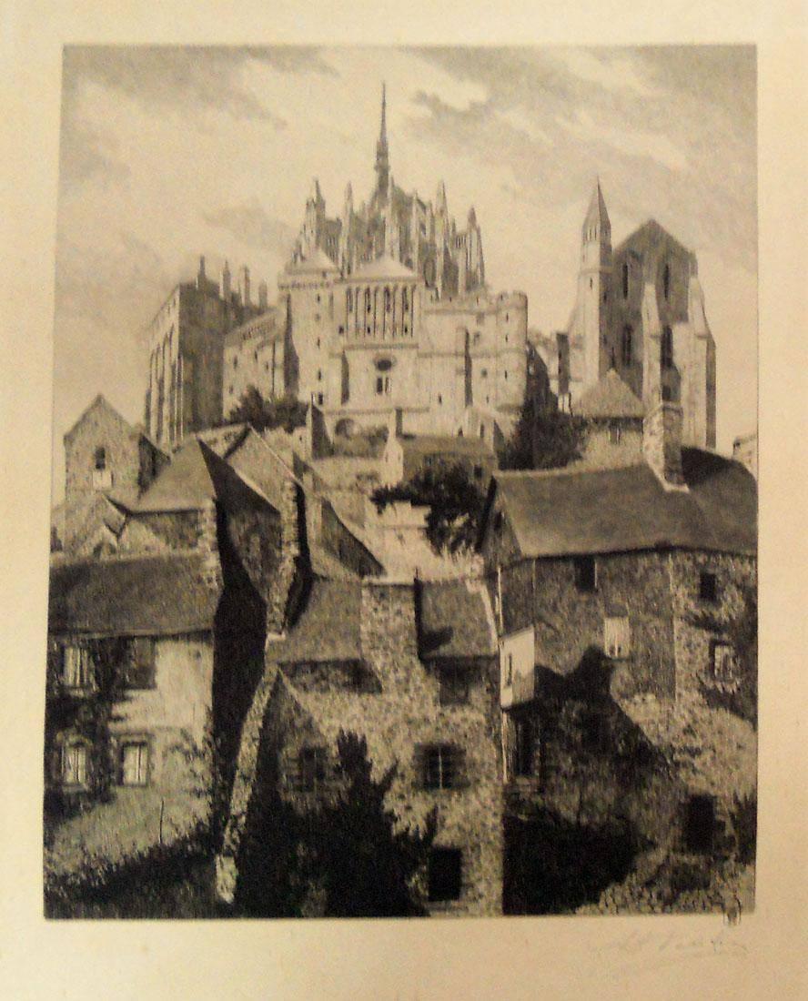 Obra ampliada: La iglesia del monte San Miguel - Enrique Leon Voisin