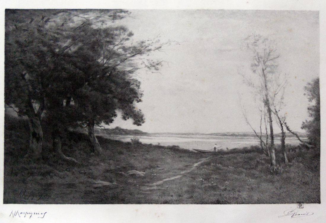 Obra ampliada: Cuadro de Enrique Harpignies - C.J. Kranet
