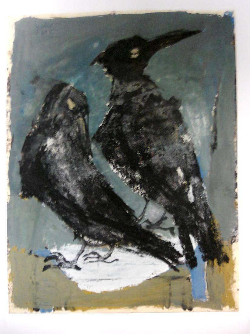 Obra ampliada: Cuervos - Jean Van Heel