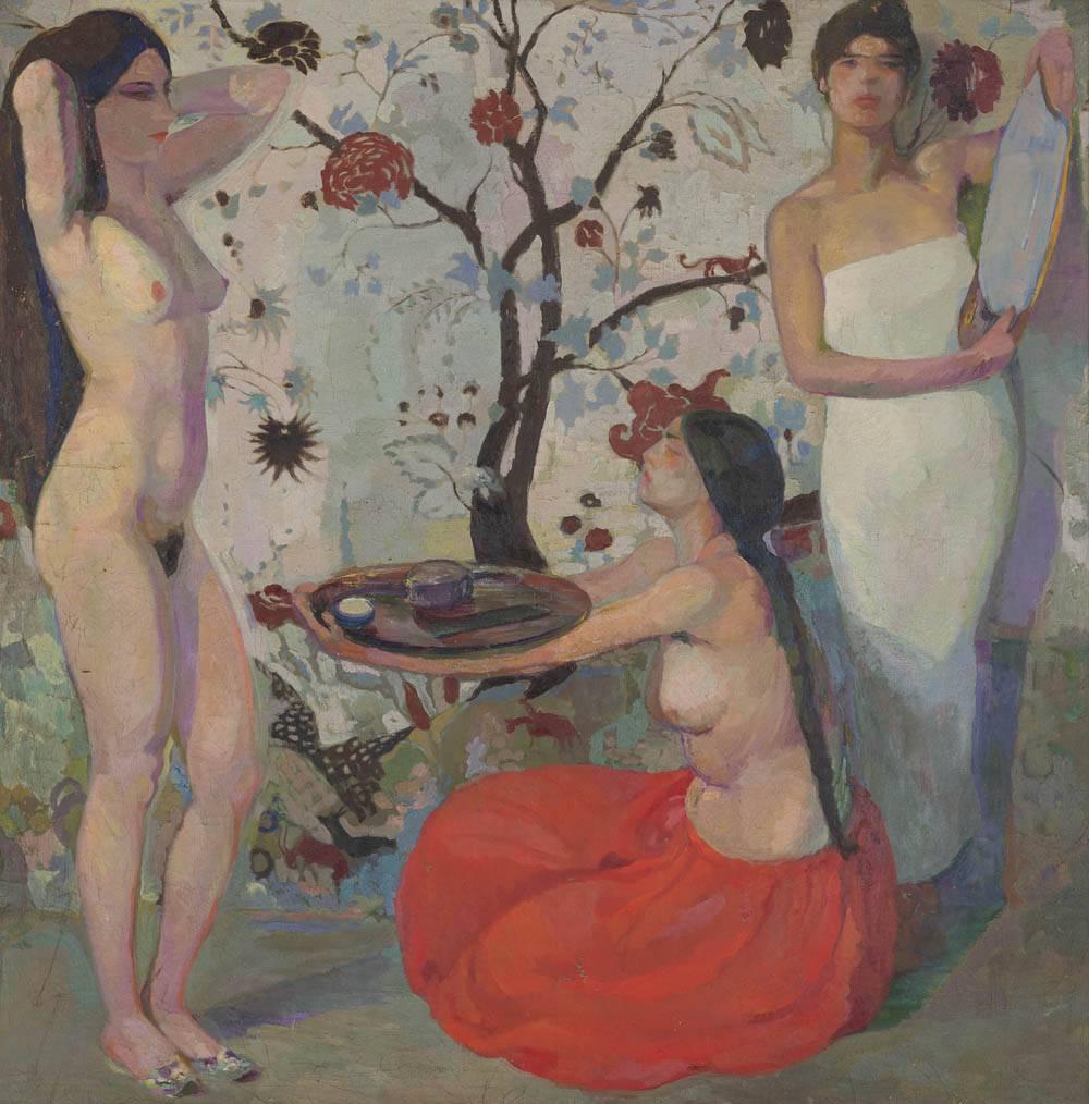 Obra ampliada: El espejo - Guillermo Laborde