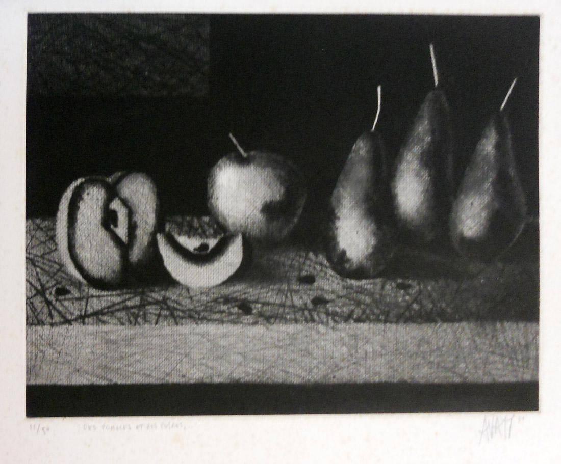 Obra ampliada: Manzanas y peras - Avati