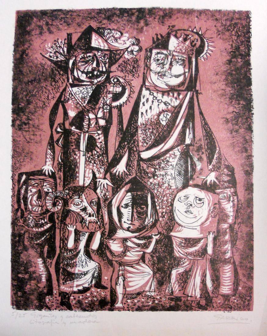 Obra ampliada: Gigantes y cabezudos - Luis Garrido Álvarez