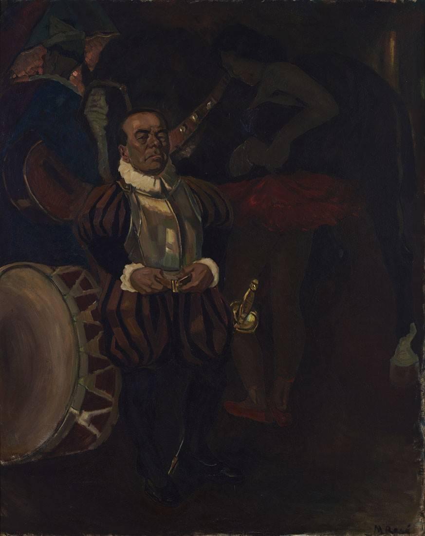 Obra ampliada: El enano del circo - Manuel Rosé