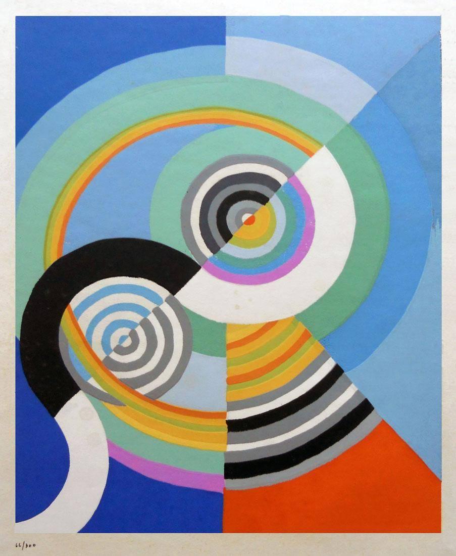 Obra ampliada: Rithme 3 - Robert Delaunay