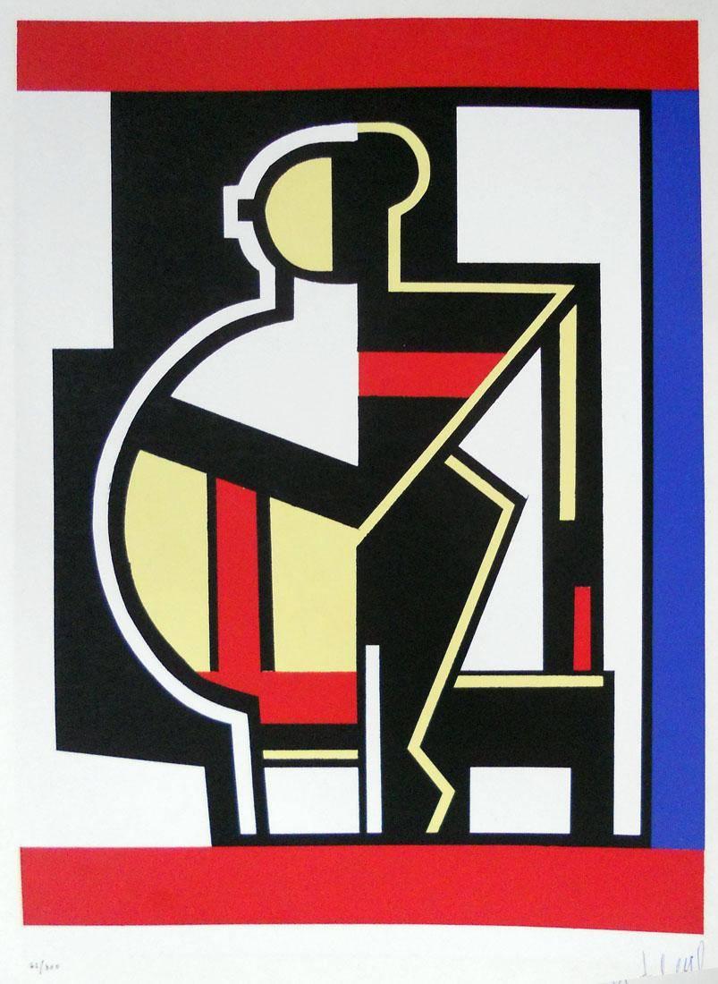 Obra ampliada: Epoque mecanique - Fernand Léger