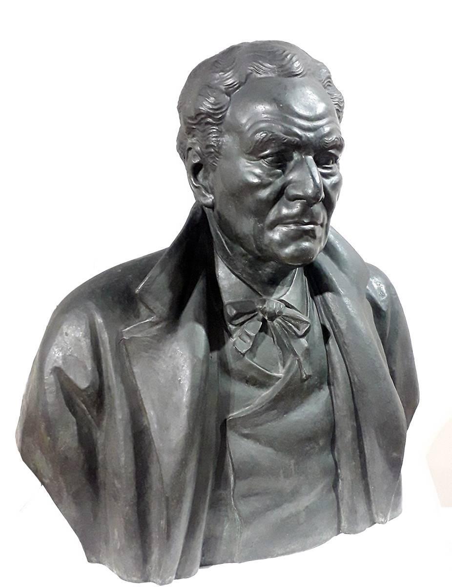 Obra ampliada: Busto de Eduardo Fabini - José Luis Zorrilla de San Martín
