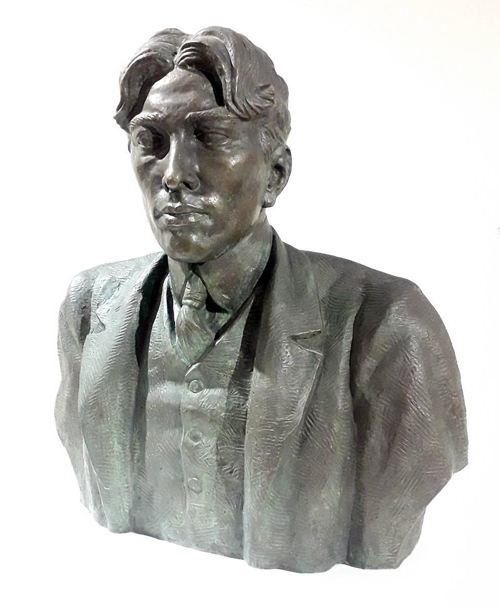 Obra ampliada: Busto del escritor Florencio Sánchez - José Luis Zorrilla de San Martín