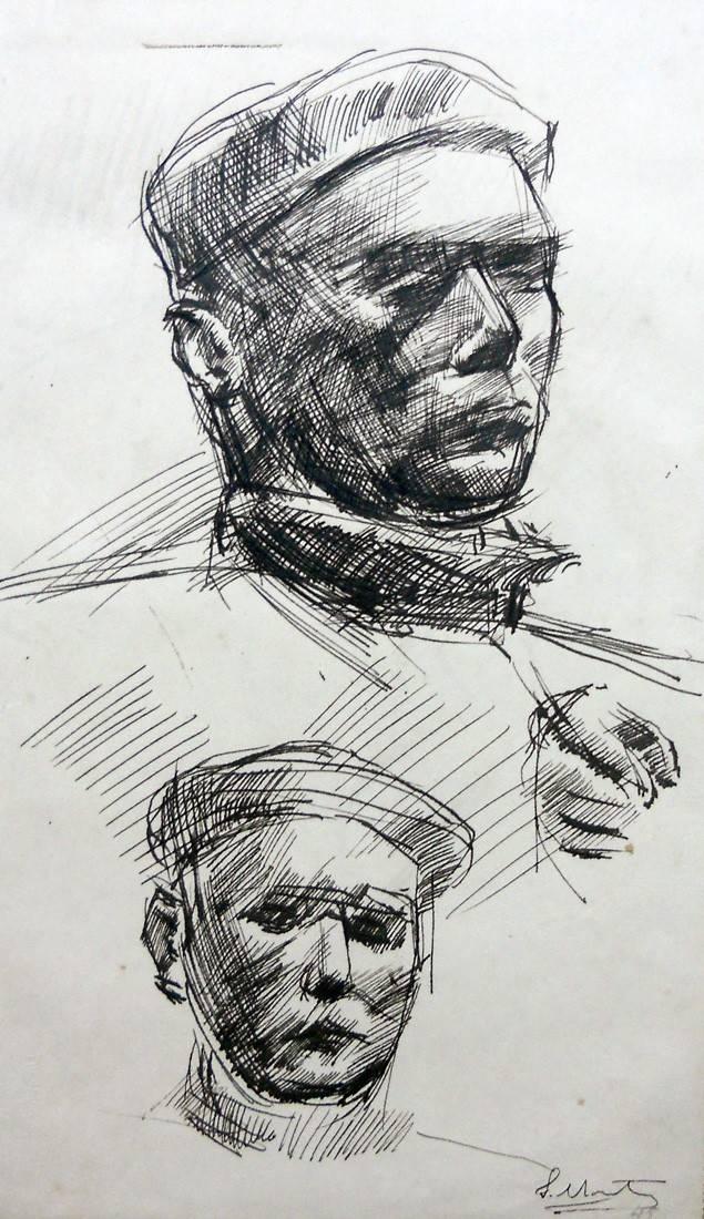Obra ampliada: Autorretratos - Juan Martín