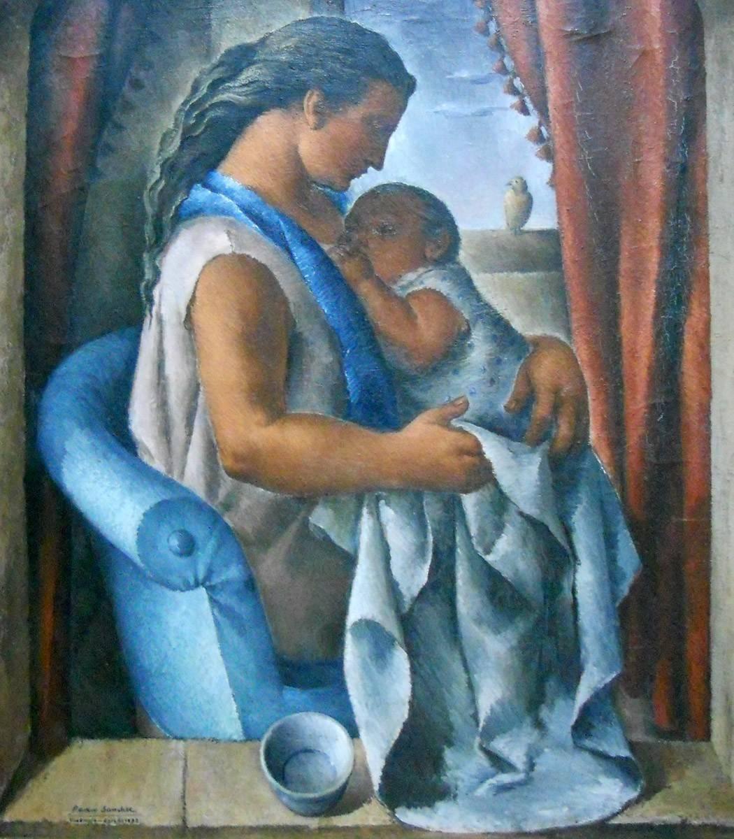 Obra ampliada: Madre latina - Pedro Sánchez