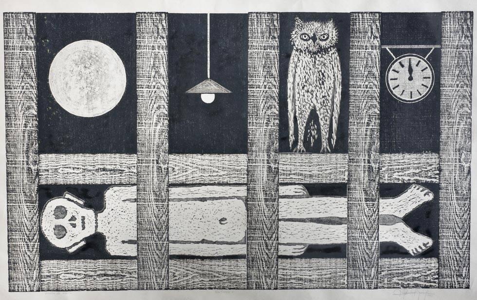 Obra ampliada: Nocturno 6 - Ruisdael Suárez