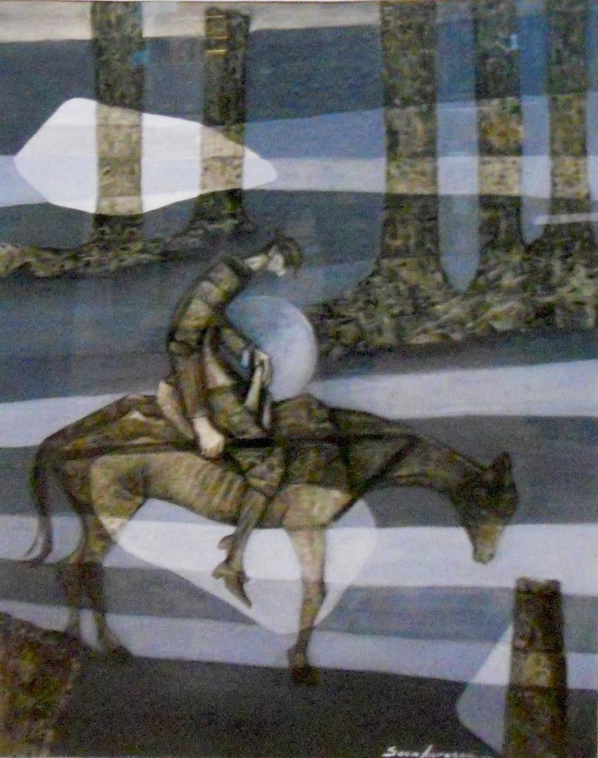 Obra ampliada: Quijote - Sara Traversa