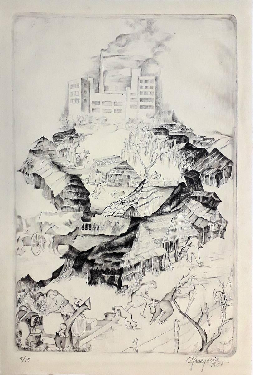 Obra ampliada: El Cerro - Carmen Garayalde