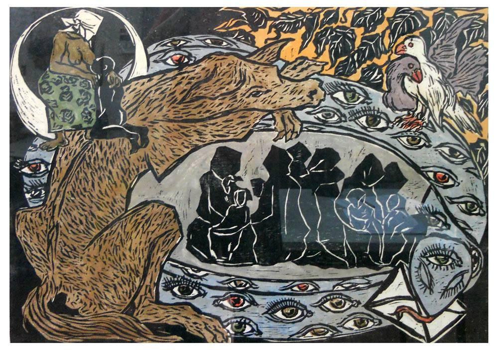 Obra ampliada: Madres negras - Claudio Silveira Silva