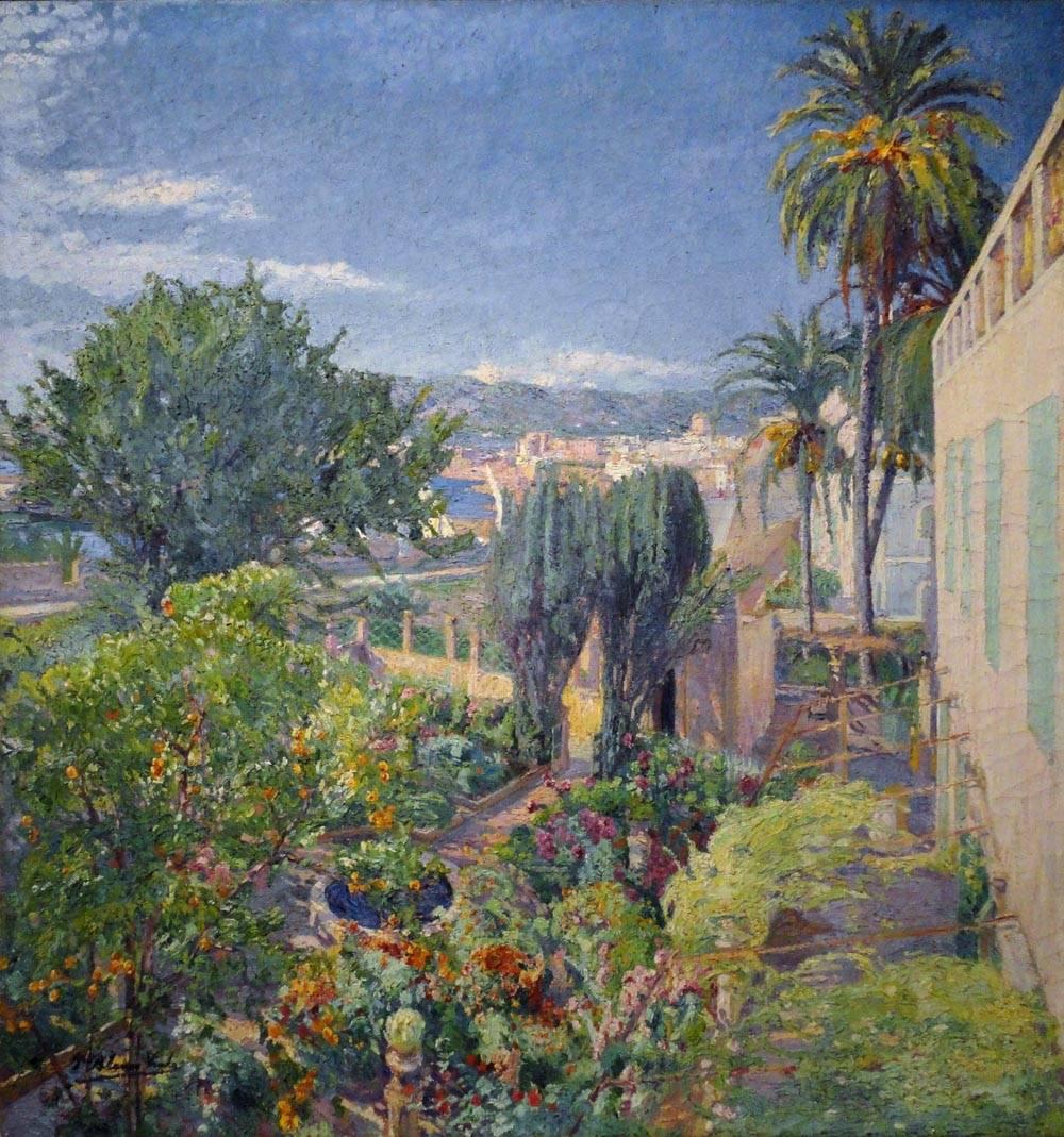 Obra ampliada: Jardín mallorquín - Pedro Blanes Viale