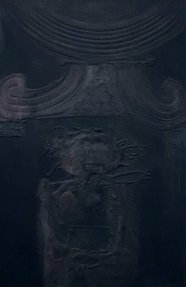 Obra ampliada: De la serie diálogos - Agustín Alamán